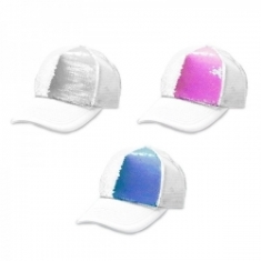 כובע מצחיה עם פייטים